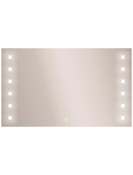 KRISTALLFORM Kosmetikspiegel »Capella«, beleuchtet, BxH: 100 cm x 60 cm