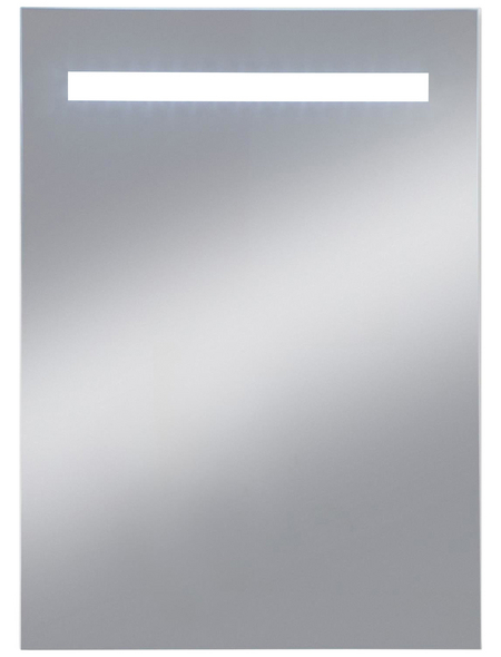 KRISTALLFORM Kosmetikspiegel »E-Light Two«, beleuchtet, BxH: 40 x 60 cm