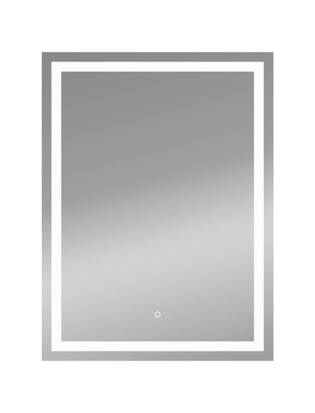 KRISTALLFORM Kosmetikspiegel »Framelight II«, beleuchtet, BxH: 50 cm x 70 cm