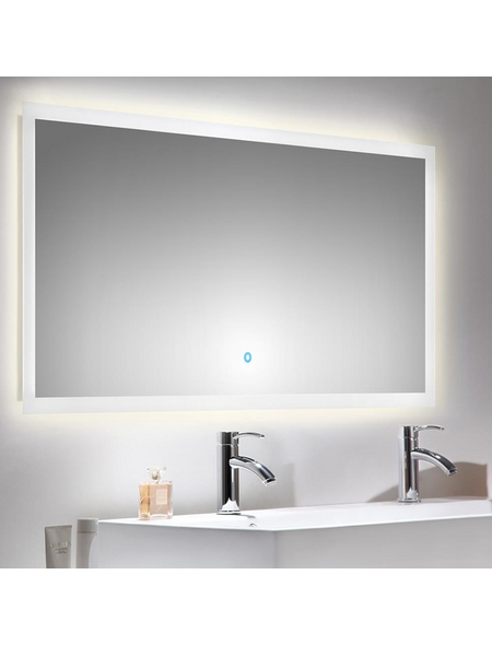 POSSEIK Kosmetikspiegel »LEVIA«, beleuchtet, BxH: 140 x 60 cm