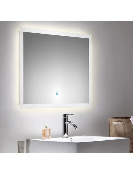 POSSEIK Kosmetikspiegel »LEVIA«, beleuchtet, BxH: 80 cm x 60 cm