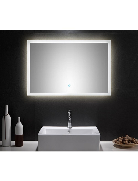 POSSEIK Kosmetikspiegel »LEVIA«, beleuchtet, BxH: 90 cm x 60 cm