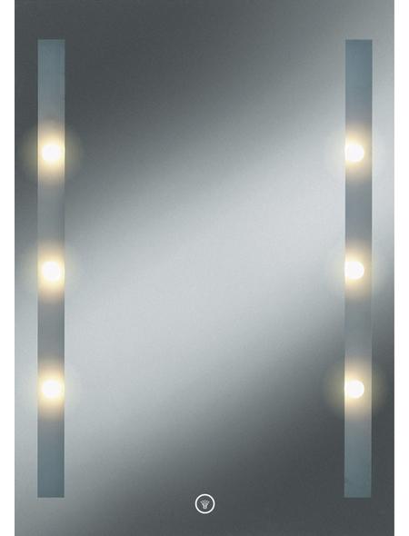 KRISTALLFORM Kosmetikspiegel »Moon Light 1«, beleuchtet, BxH: 50 cm x 70 cm