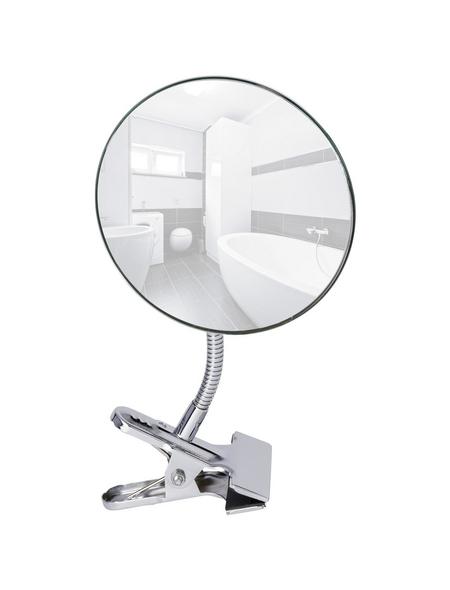 WENKO Kosmetikspiegel, rund, Clips