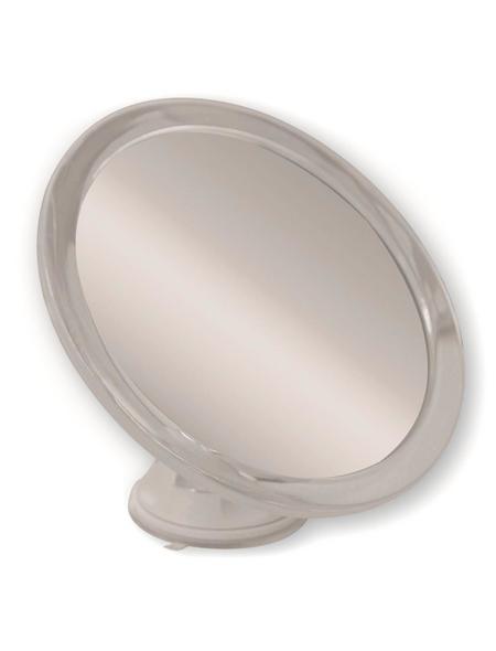KRISTALLFORM Kosmetikspiegel, rund, Ø 17,3 cm, grau