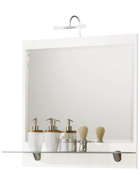 POSSEIK Kosmetikspiegel »SALONA«, beleuchtet, BxH: 70 x 68 cm