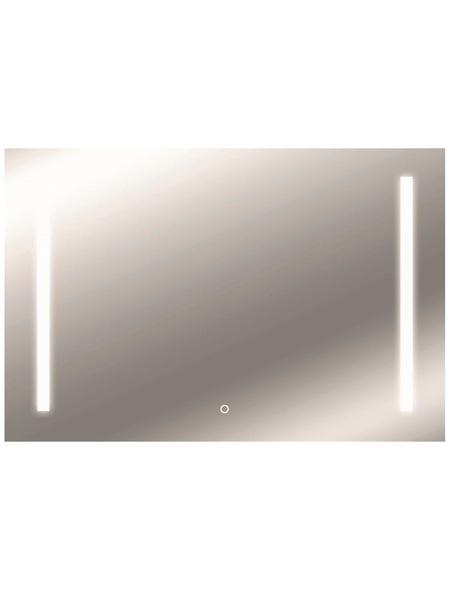 KRISTALLFORM Kosmetikspiegel »Sirius«, beleuchtet, BxH: 100 cm x 60 cm