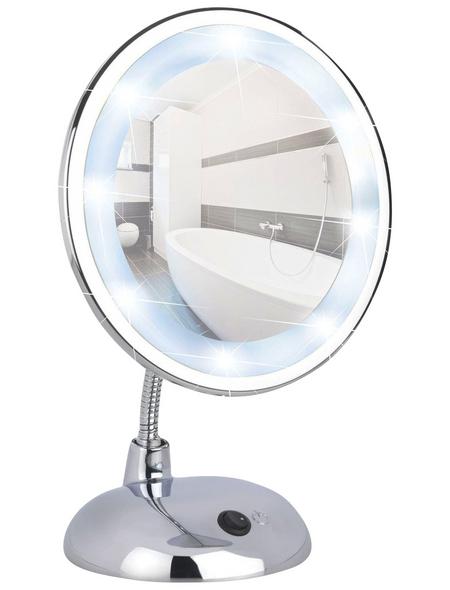 WENKO Kosmetikspiegel »Style«, beleuchtet, BxH: 17,5 cm x 28 cm