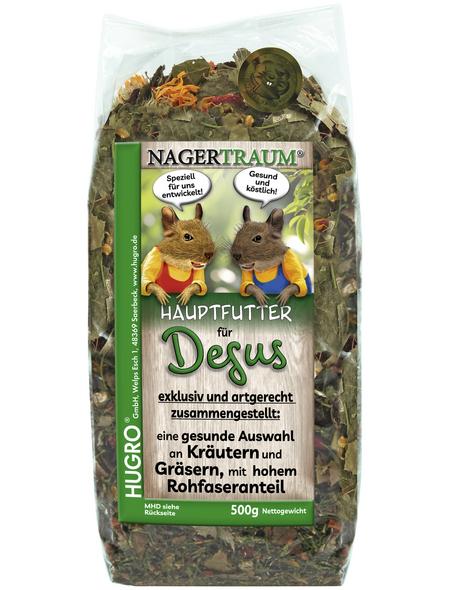 HUGRO Kräuter- / Blütenmischung »Nagertraum Degu Exquisit«, à 500 g