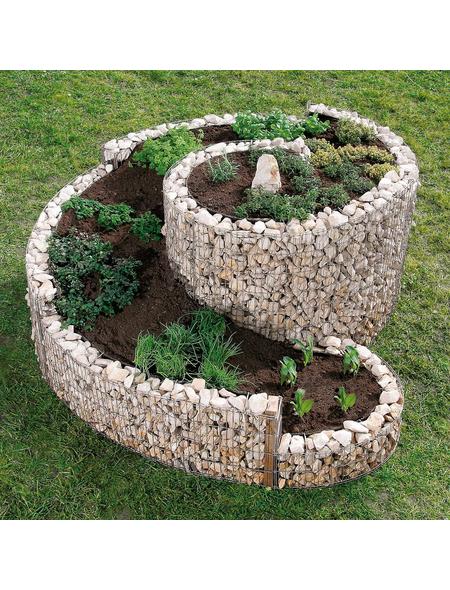 BELLISSA Kräuterspirale, BxHxL: 90 x 60 x 110 cm, Stahl