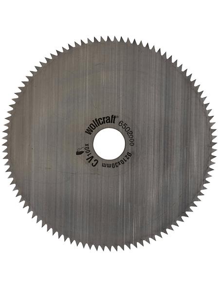 WOLFCRAFT Kreissägeblatt, Ø 209 mm, 100 Zähne