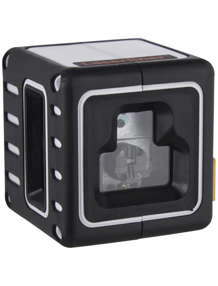 laserliner® Kreuzlinienlaser »CompactCube 3«, schwarz/orange
