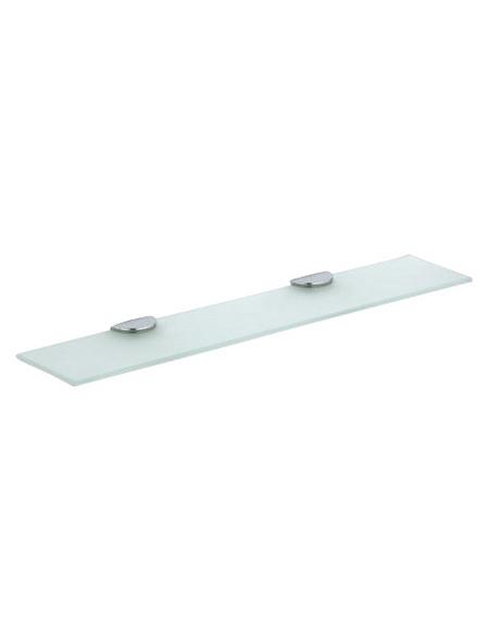 KEUCO Kristallglasplatte »Edition 300«, transparent/silberfarben