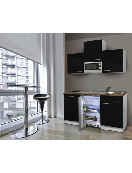 RESPEKTA Küchenblock »KB150WRMI«, mit E-Geräten, Gesamtbreite: 150cm