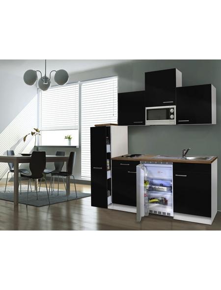 RESPEKTA Küchenblock »KB180WWMI«, mit E-Geräten, Gesamtbreite: 180cm