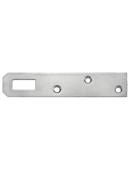 GECCO Küchenrahmblech Stahl 80 x 20 x 1,5 mm 4 St.