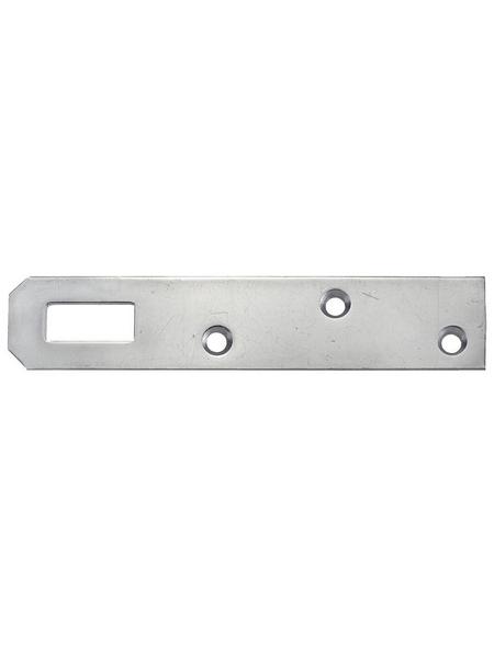 GECCO Küchenrahmenblech Stahl 80 x 20 x 1,5 mm