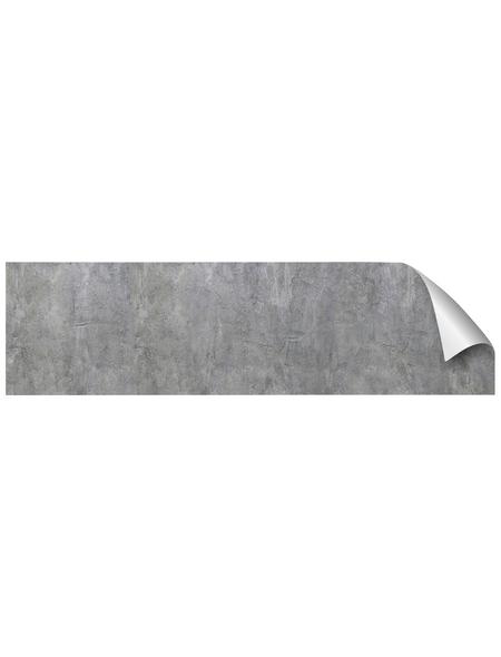 mySPOTTI Küchenrückwand-Panel, fixy, Betonoptik, 220x90 cm