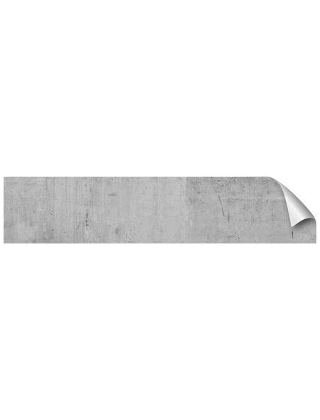 mySPOTTI Küchenrückwand-Panel, fixy, Betonoptik, 280x60 cm
