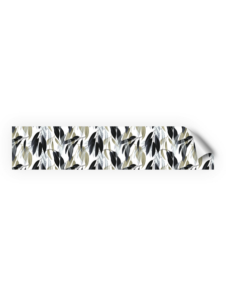 mySPOTTI Küchenrückwand-Panel, fixy, Blätter, 280x60 cm