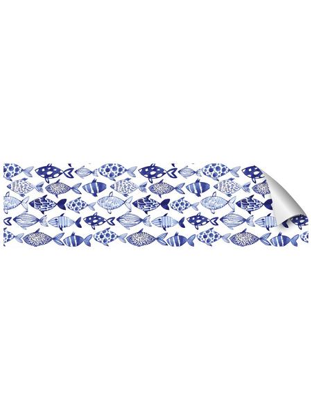 mySPOTTI Küchenrückwand-Panel, fixy, Fischmuster, 220x60 cm
