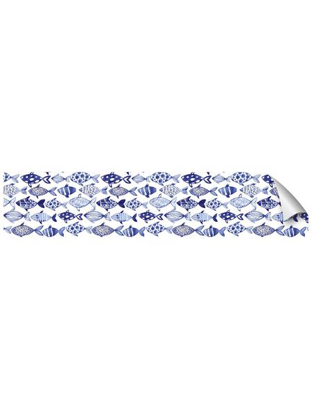 mySPOTTI Küchenrückwand-Panel, fixy, Fischmuster, 280x60 cm