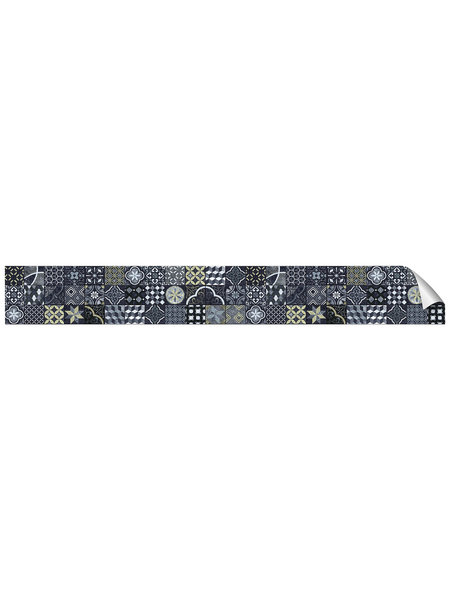 mySPOTTI Küchenrückwand-Panel, fixy, Fliesenoptik, 450x90 cm