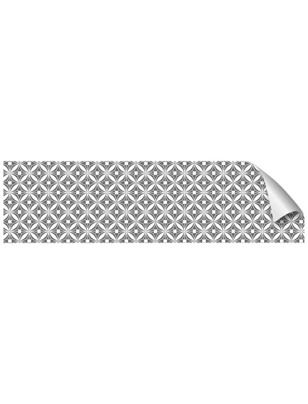 mySPOTTI Küchenrückwand-Panel, fixy, Geometrisches Muster, 220x60 cm