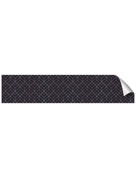 mySPOTTI Küchenrückwand-Panel, fixy, Geometrisches Muster, 280x60 cm