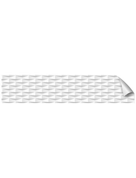 mySPOTTI Küchenrückwand-Panel, fixy, Geometrisches Muster, 280x90 cm