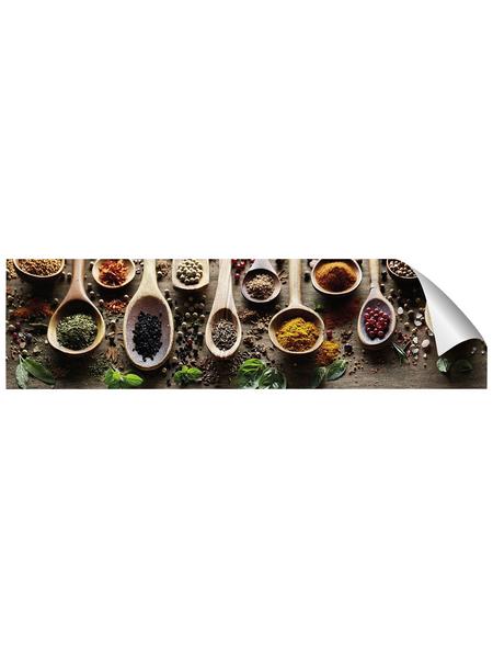mySPOTTI Küchenrückwand-Panel, fixy, Gewürze, 220x60 cm