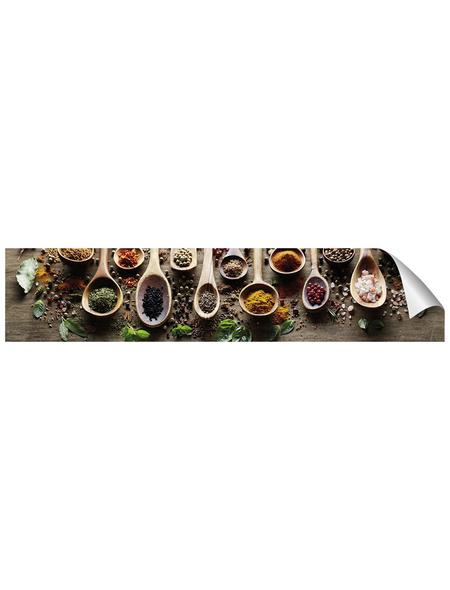 mySPOTTI Küchenrückwand-Panel, fixy, Gewürze, 280x90 cm