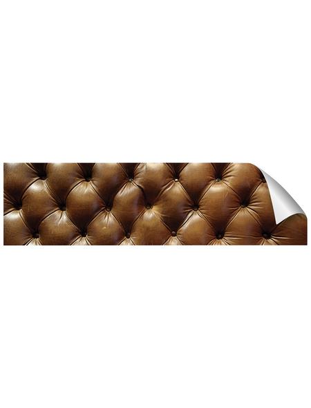 mySPOTTI Küchenrückwand-Panel, fixy, Lederstruktur, 220x60 cm