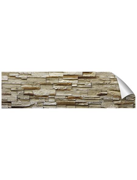 mySPOTTI Küchenrückwand-Panel, fixy, Steinoptik, 220x60