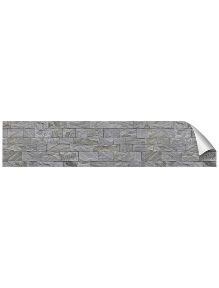 mySPOTTI Küchenrückwand-Panel, fixy, Steinoptik, 280x60 cm
