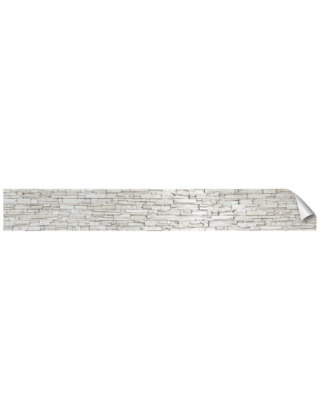 mySPOTTI Küchenrückwand-Panel, fixy, Steinoptik, 450x60 cm