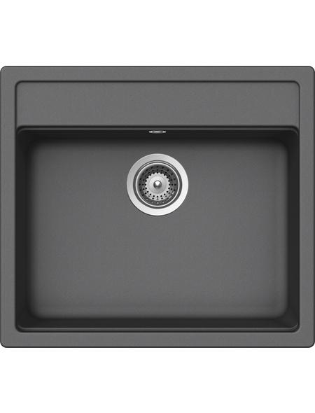 SCHOCK Küchenspüle, Nemo N-100 Croma, Granit | Komposit | Quarz, 57 x 51