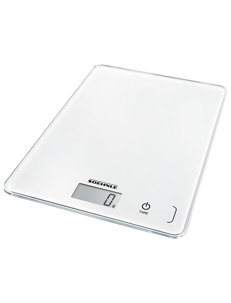 SOEHNLE Küchenwaage »Page Compact 300«, mit LCD-Anzeige, Sensor-Touch, Glas