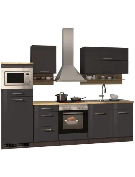 HELD MÖBEL Küchenzeile »Mailand«, mit E-Geräten, Gesamtbreite: 270cm