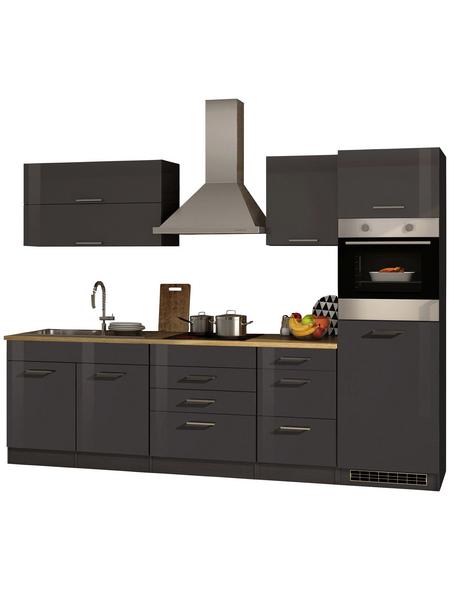 HELD MÖBEL Küchenzeile »Mailand«, mit E-Geräten, Gesamtbreite: 290cm