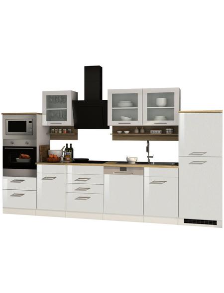 HELD MÖBEL Küchenzeile »Mailand«, mit E-Geräten, Gesamtbreite: 340cm