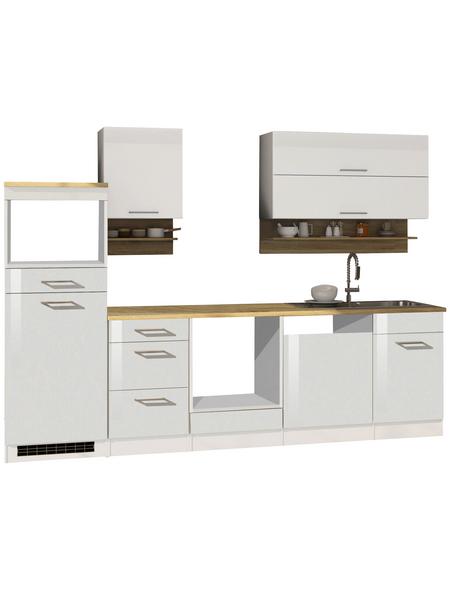 HELD MÖBEL Küchenzeile »Mailand«, ohne E-Geräte, Gesamtbreite: 280cm