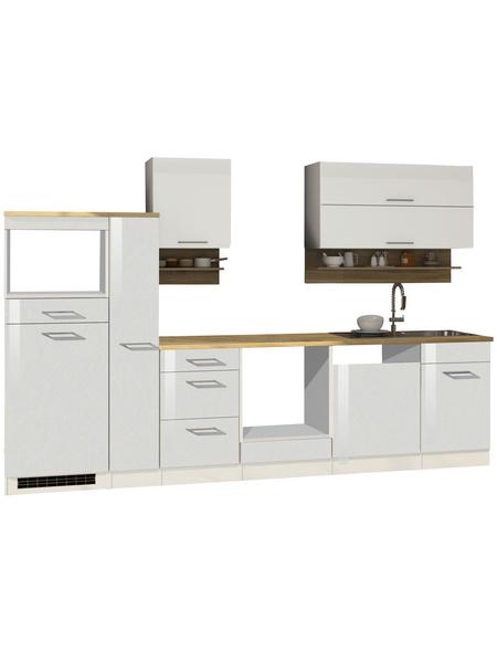 HELD MÖBEL Küchenzeile »Mailand«, ohne E-Geräte, Gesamtbreite: 310cm
