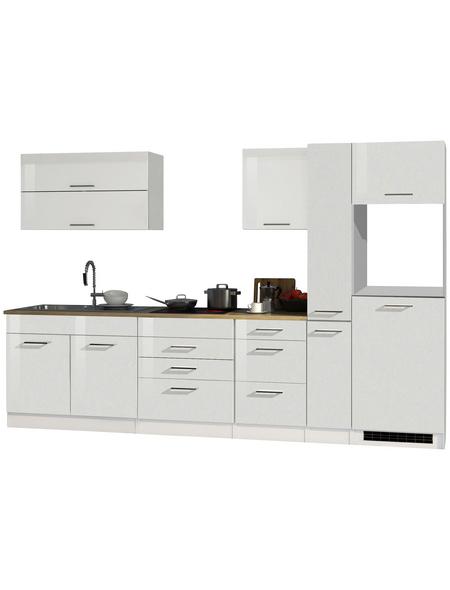HELD MÖBEL Küchenzeile »Mailand«, ohne E-Geräte, Gesamtbreite: 320cm