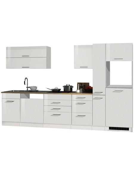 HELD MÖBEL Küchenzeile »Mailand«, ohne E-Geräte, Gesamtbreite: 330cm