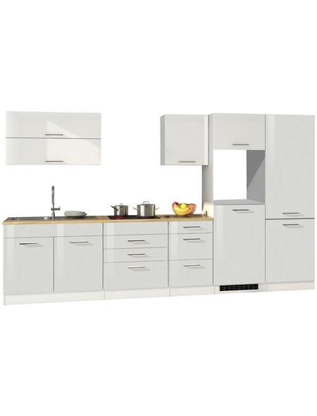 HELD MÖBEL Küchenzeile »Mailand«, ohne E-Geräte, Gesamtbreite: 350cm