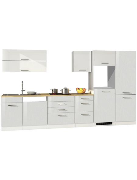 HELD MÖBEL Küchenzeile »Mailand«, ohne E-Geräte, Gesamtbreite: 360cm