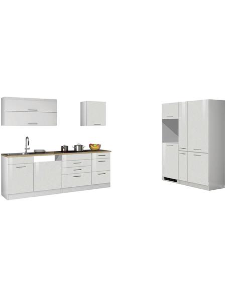 HELD MÖBEL Küchenzeile »Mailand«, ohne E-Geräte, Gesamtbreite: 390cm