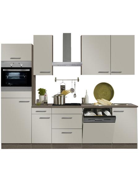 OPTIFIT Küchenzeile »OPTIkompakt ARTA 288«, mit E-Geräten, Gesamtbreite: 210 cm