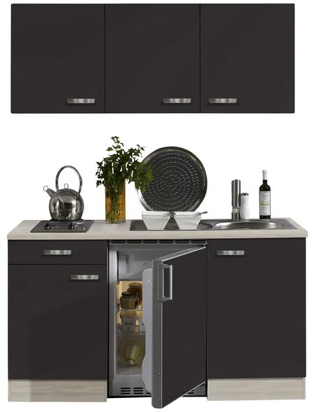 OPTIFIT Küchenzeile »OPTIkompakt FARO 220«, mit E-Geräten, Gesamtbreite: 150 cm